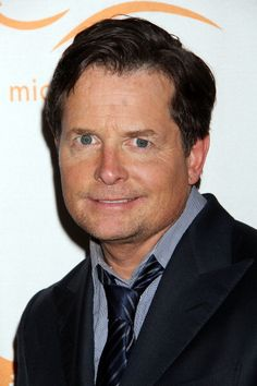 Michael J. Fox at A Funny Thing Happened On The Way To Cure Parkinson's benefit. Grooming by Kumi Craig.
