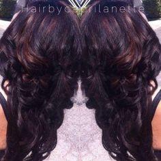 Mahogany and gold Pretty Hairstyles, Wedding Hairstyles, Hair Shop, Creative Hairstyles, About Hair, Gorgeous Hair, Beautiful, Hair Designs, Hair Beauty