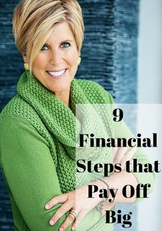 9 Small Financial Steps That Will Pay Off Big in the Future || Suze Orman reveals her list of little things you can do now that yield big rewards.