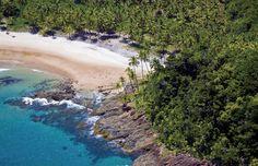 Itacaré, na Bahia. Destino super conhecido e point de surfistas do mundo todo. O lugar é diferenciado, em meio à Mata Atlântica com cachoeiras e praias paradisíacas.