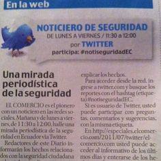 Cuando los medios en lugar de centralizar generan comunidad  #notiseguridadec