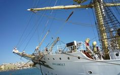 Class Afloat! Imagine your #school is a majestic tall ship sailing to twenty ports on four continents!