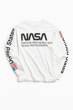 NASA Worm Logo Long Sleeve Tee 3987d712d