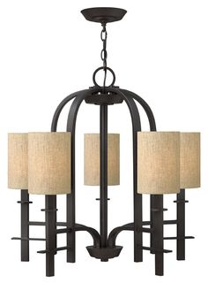 Buy the Hinkley Lighting Regency Bronze Direct. Shop for the Hinkley Lighting Regency Bronze Sloan 5 Light 1 Tier Chandelier and save. Bronze Chandelier, 5 Light Chandelier, Chandelier Shades, Modern Chandelier, Modern Light Fixtures, Modern Lighting, Lighting Ideas, Iron Chandeliers, San Carlos