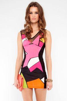 Deco Mini Dress