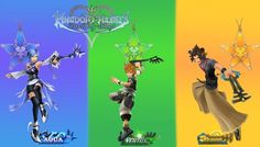 Kingdom Hearts 22X34 inch  ( Huge Gloss Wallposter ) - FAST SHIPPING  #Anmie