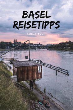7 wunderschöne Orte in Basel in der Schweiz / Reisetipps Garden Bridge, Switzerland, Dubai, Travel Destinations, Beautiful Places, Journey, Outdoor Structures, Explore, World