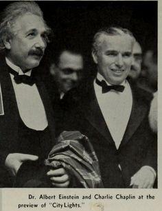 Albert Einstein, Charlie Chaplin