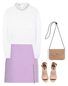 """""""#2186"""" by azaliyan ❤ liked on Polyvore featuring Carven, Miu Miu and H&M"""