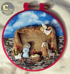 Christmas Gifts To Make, Christmas Wood, White Christmas, Merry Christmas, Mary And Jesus, Xmas Crafts, How To Make, Diy, Portal
