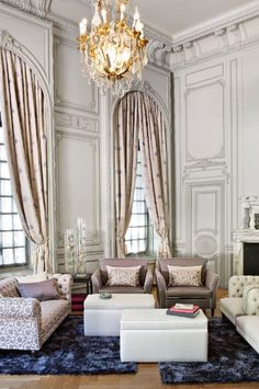 1000 images about telas para cortinas on pinterest for Cortinas de tela para living