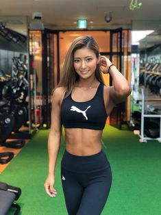 1000 Calorie Workout, Womens Workout Outfits, Cute Asian Girls, Fit Chicks, Athletic Women, Female Athletes, Sport Girl, Sports Women, Sexy Outfits