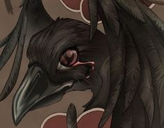 Confira este projeto do @Behance: u201cItachi's Tsukuyomi Crowsu201d https://www.behance.net/gallery/12708437/Itachis-Tsukuyomi-Crows