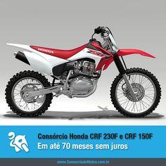 A Honda acaba de lançar os modelos CRF 230F e CRF 150F da linha 2015. Acesse nossa matéria para ver os detalhes e para saber como comprar a sua pelo consórcio: https://www.consorciodemotos.com.br/noticias/honda-crf-230f-e-crf-150f-em-ate-70-meses-sem-juros?idcampanha=288&utm_source=Pinterest&utm_medium=Perfil&utm_campaign=redessociais
