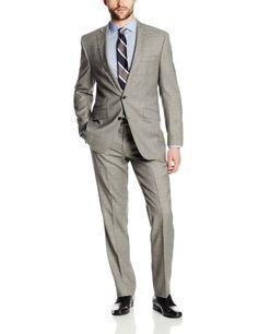 Ben Sherman Men's Two Button Side Vent Suit with Flat Front Pant, Light Grey, 42 Regular Ben Sherman http://www.amazon.com/dp/B00GNSO0MC/ref=cm_sw_r_pi_dp_YBhDwb0T7J3FV