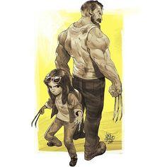 """1,617 次赞、 20 条评论 - Vince Serrano (@vncserrano) 在 Instagram 发布:""""Not gonna skip sketching the Wolverine movie we all deserve! #logan #fanart #marvel #comics…"""""""