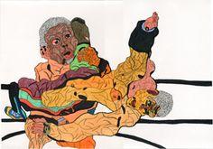 新木友行   知的に障害のあるアーティストを支援する大阪の社会福祉施設「アトリエインカーブ3人展」 9月14日から東京・新宿の東京オペラシティアートギャラリーで開催