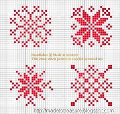 Bebi País de las hadas: patrones punto de cruz de Navidad
