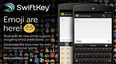 Novo beta do Swiftkey adiciona emojis, novo tema e outras novidades - http://showmetech.band.uol.com.br/novo-beta-swiftkey-adiciona-emojis-novo-tema-e-outras-novidades/