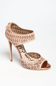 Sam Edelman Alva Sandal-Gorgeous shoes!!!  Lusted over these at Nordstrom, but heel is just too high :-(