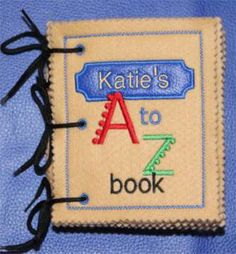 A beautiful felt peek-a-boo book for the little ones. Machine Embroidery Patterns, Embroidery Thread, Destiny Ii, Free Design, Your Design, Z Book, History Page, Ways Of Learning, Custom Embroidery