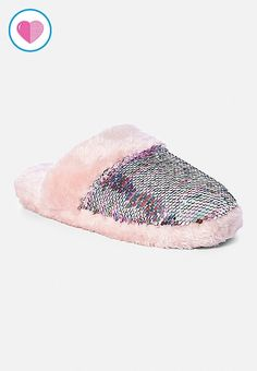 Shop the cutest girls' slippers at Justice. From furry slipper boots to colorful slip-ons, find her favorites in our selection of fun slippers for girls today! Cute Slippers, Slippers For Girls, Womens Slippers, Ladies Slippers, Girls Sleepwear, Girls Pajamas, Pretty Shoes, Cute Shoes, Cute Girl Outfits