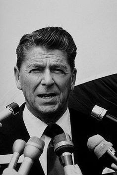 Ronald Reagan, President He was a D-list movie star before going into politics.