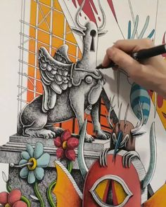 """257 Likes, 9 Comments - Nicolas Barrome forgues (@nicolasbarrome) on Instagram: """"Working for an upcoming collectiv show with @happygallery.fr and @kollygallery at @espaceoppidum 🔥…"""""""