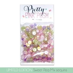 Pretty Pink Posh SWEET PEA MIX Sequins at Simon Says STAMP!