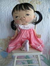 Jan Shackelford OOAK Baby Girl TinkerToy 2016