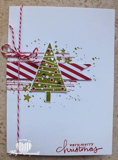 Magical Scrapworld: festival of trees, Stampin' Up!