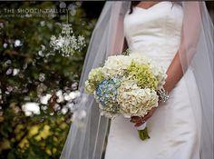 love a hydrangea bouquet <3