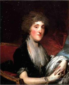 Gilbert Stuart,Mrs. Alexander James Dallas, Nee Arabella Maria Smith oil painting reproductions for sale