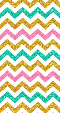 Pastel glitter chevron iphone wallpaper #spring