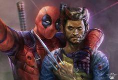 Deadpool and Wolverine!! Art by Yanporforio #wolverine #comic #modernistablog