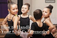 """Have you ever had a """"frenemy?"""" That friend who goes through the motions of being a friend and even says that you're good friends, but who routinely does things to hurt your feelings, dash your confidence, or stir up trouble? Can you imagine how much harder it is for your child? That's why you need to know how to handle your child's frenemies, Mom. #momlife #parenting #friends"""