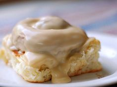 Amish Cinnamon Rolls with Caramel Frosting...Have tried the frosting and love it!