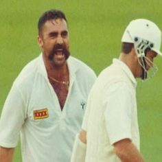 """Merv Hughes: """"A final word on this crap about walking. I am honestly flabbergasted that people are still criticising batsmen for standing their ground. You only walk when your'e out of petrol - you're there to do a job."""""""