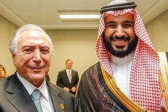 """Mohammad convidou o Governo Brasileiro a ir a Arábia Saudita: """"Temos grande interesse em intensificar a relação entre os dois países"""
