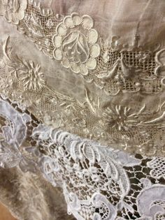 Antique lace embroideryg !!