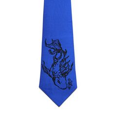 Koi Necktie Royal Blue now featured on Fab.