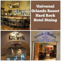 Hard Rock Hotel Dining - lots of great dining here!