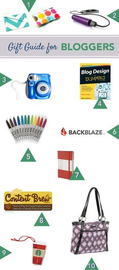 2013 Gift Guide for Bloggers