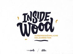 Inside Wood logo by Typemate