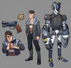 TPA Agents Character Sheet by thdark.deviantart.com on @DeviantArt