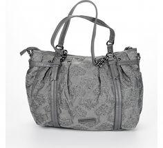 Dámská stříbrná kabelka Fornarina