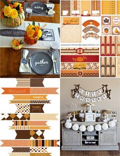 decorating ideas decor thanksgiving wreaths free printables fall