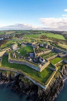 Charles Fort in Kinsale, Co Cork, Ireland