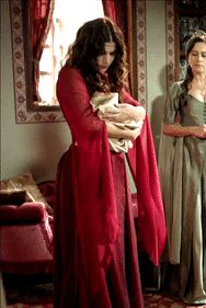 Magnificent Wardrobe (Magnificent Century - Hatice's red gown, season 2)