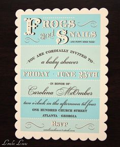 Boy's Baby Shower Invitation  Puppy Dog Tails Collection  by Loralee by LoraleeLewis, $34.00